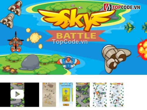 Buy Sky Battle Unity source code