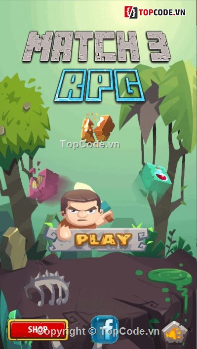 Code Match 3 RPG Puzzle Game